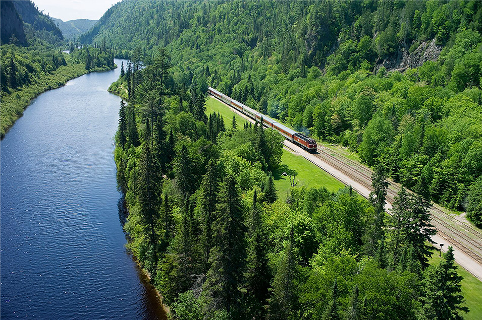 Agawa Canyon Tour Train